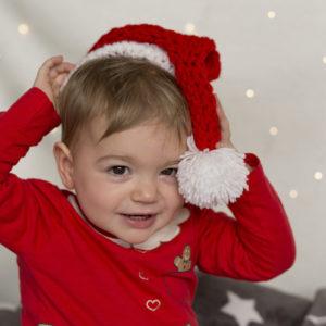 kindershooting kind als nikolaus zu weihnachten in bamberg von familienfotografin mobil